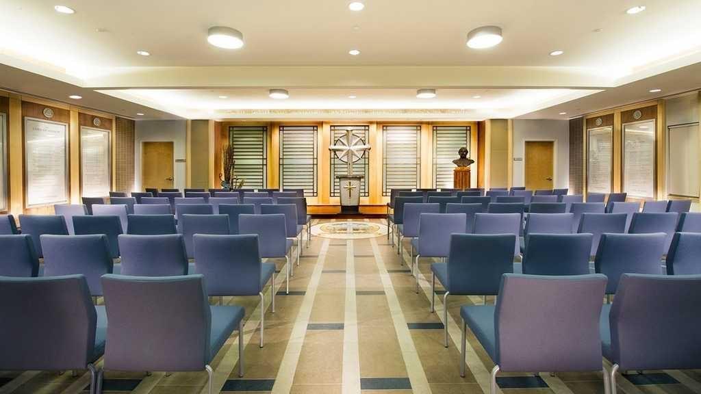 Саентология в Канаде: часовня новой Саентологической церкви Кембриджа.