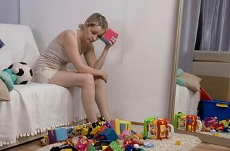 Раскиданные игрушки