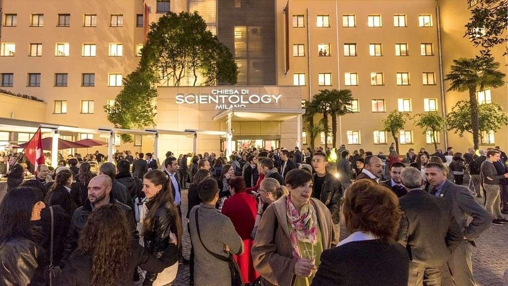 Новая саентологическая церковь Милана