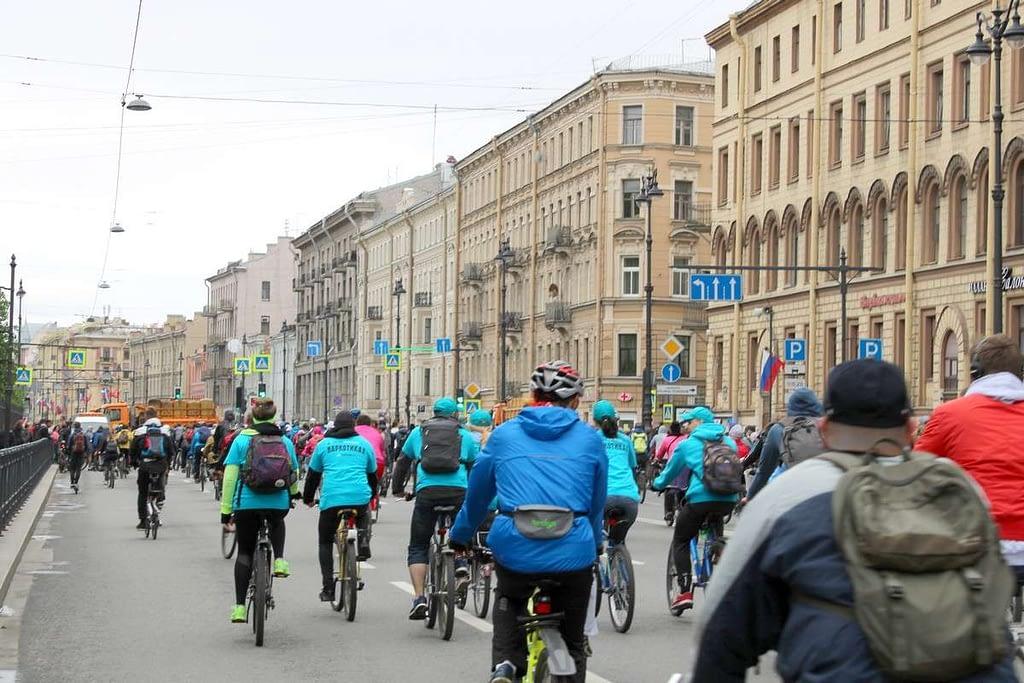 Саентологи участвуют в Большом Питерском Велопараде