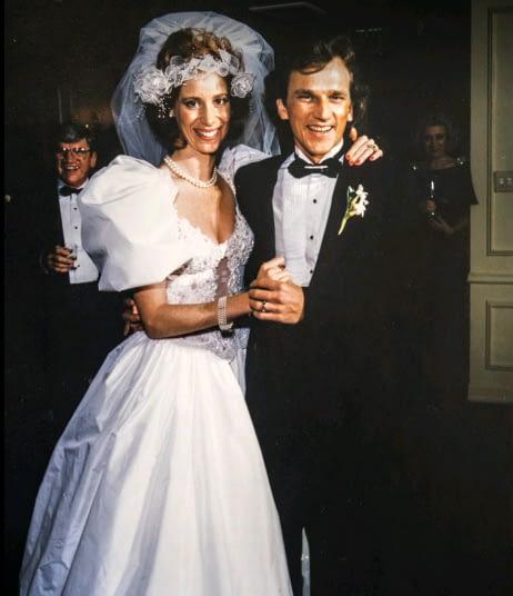 Свадебное фото Викки и Рика