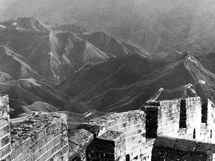 Снимок Великой Китайской стены, сделанный Л.Роном Хаббардом