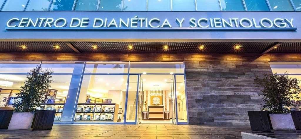 Саентология в Колумбии: вход в новую Саентологическую церковь Боготы.