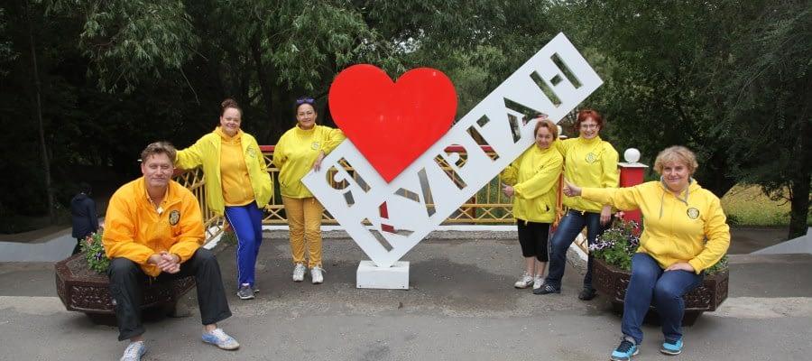 Благотворительная акция Уральского тура Доброй воли в Кургане