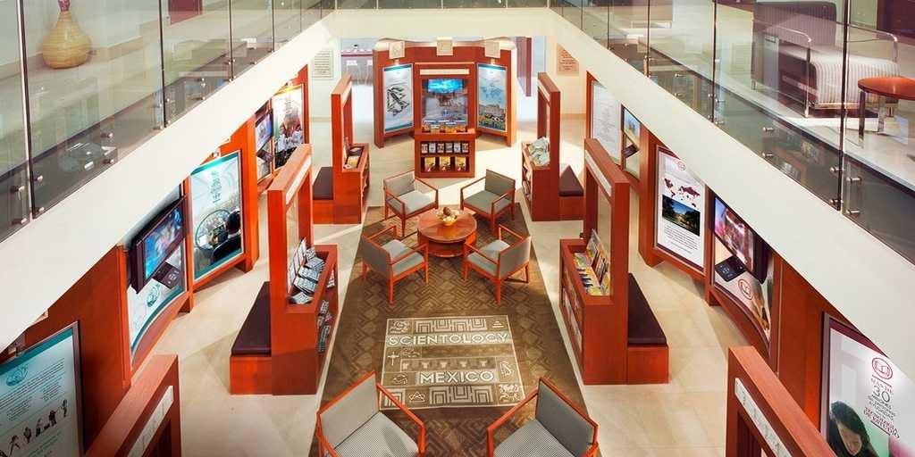 Саентология в Мексике. Информационный центр для публики.