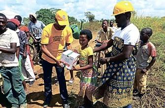 Саентологические волонтёры в Мозамбике