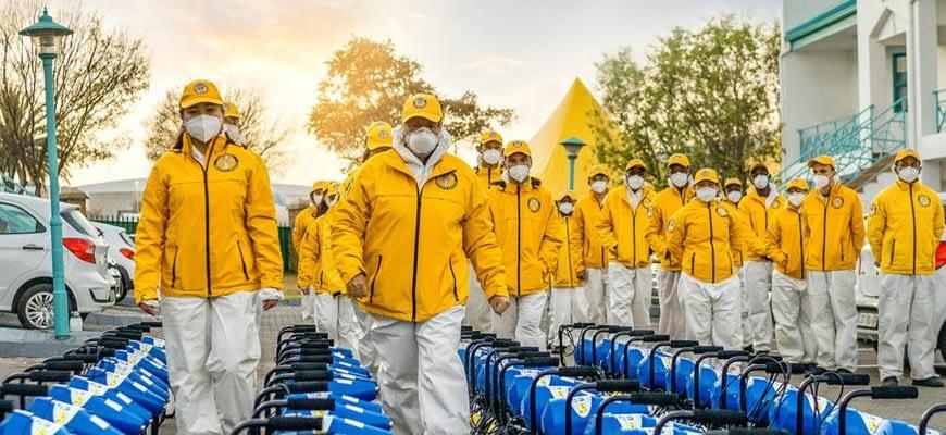 Борьба с пандемией в ЮАР: как волонтёры помогали полиции, пожарным и пожилым