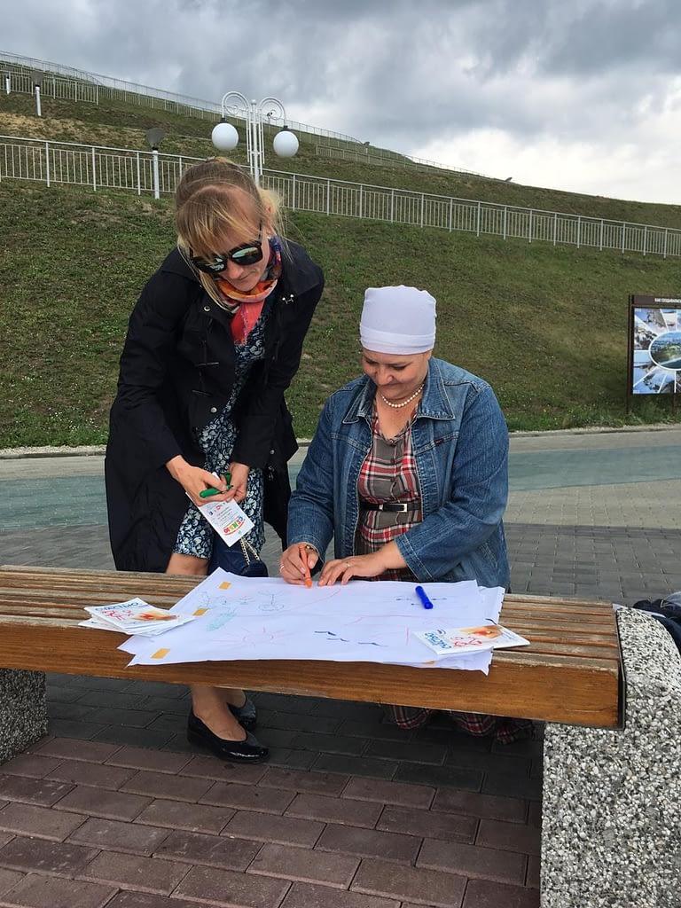 Барнаульские саентологи участвовали вгородской акции «Засчастливую семью»