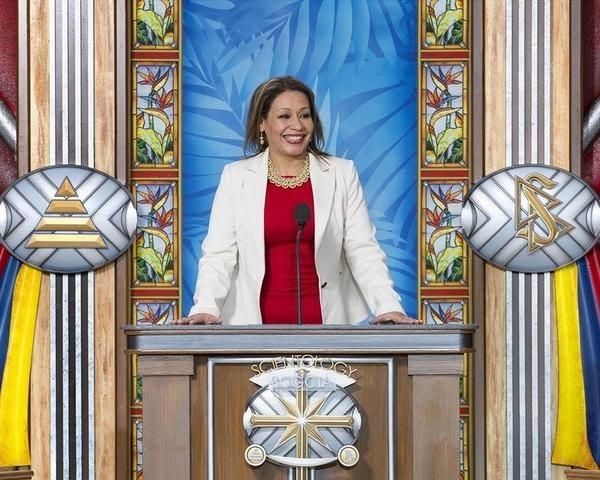 Саентология в Колумбии: Доктор Сандра Ринкон (Dr. Sandra Rincón), советник министерства социальной интеграции.