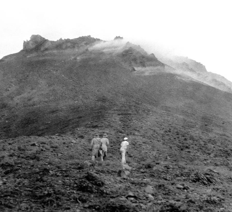 На подходе к вулкану Мон-Пеле, остров Мартиника