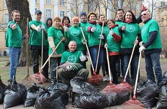 Саентологи помогают Санкт-Петербургу не словом, а делом!