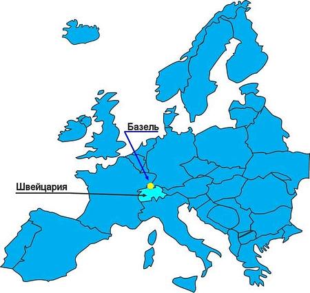 Базель. В нём расположена первая идеальная саентологическая организация в Швейцарии.