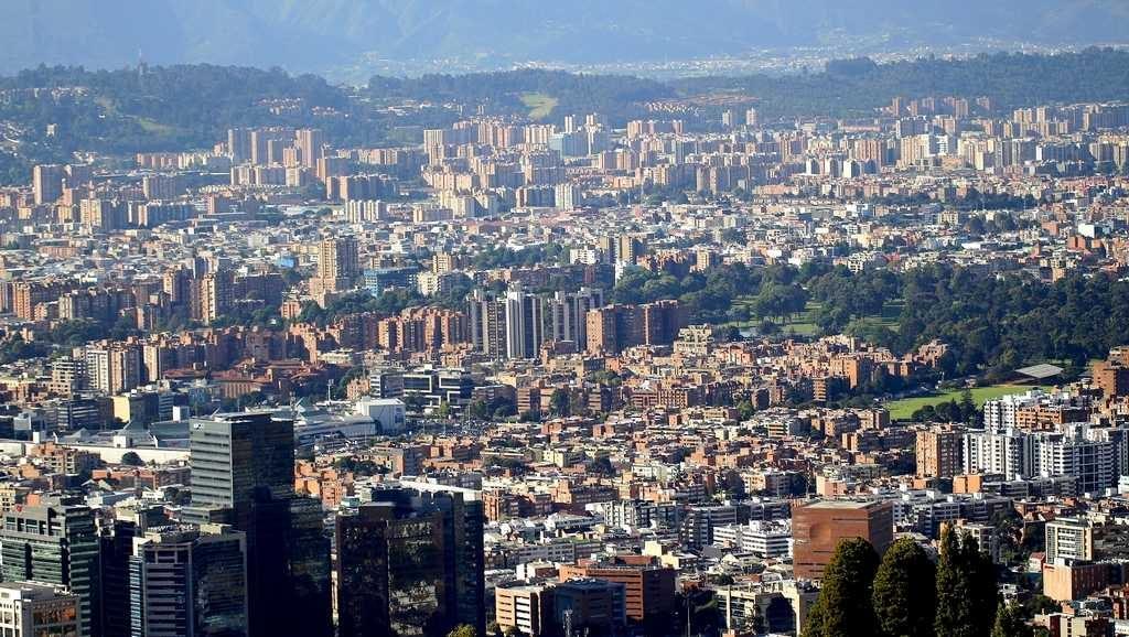 Вид на Боготу