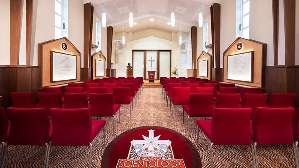 Саентология в Новой Зеландии. Часовня Саентологической церкви Окленда.