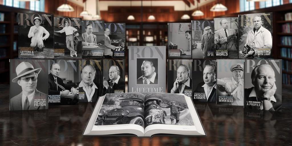 Книги биографической серии «Л. Рон Хаббард»