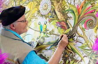 Как cаентология помогла развить талант художнику