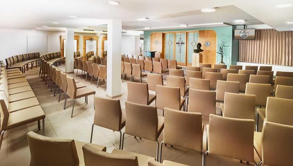 Часовня новой Саентологической церкви Базеля.